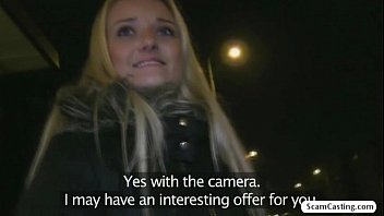 Beautiful blonde Miriam wants to be a model so much she fucks for it thumbnail