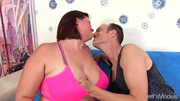 Big boobed mom spreads her legs for dick thumbnail