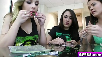 Hot teen smoke weed video Smoking weed get high and sucking a cock
