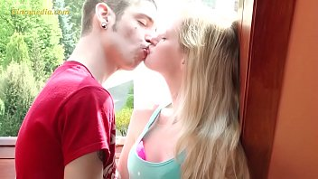 young blonde girl just 18 years with very small tits 6 min