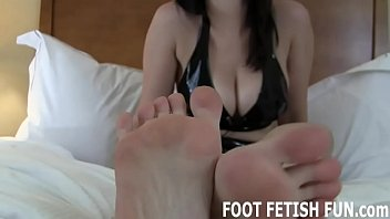 Correct breast size I will show you how to properly worship a womans feet