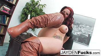 Jayden Jaymes Is sexy In the Office