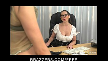 Stunning dominant brunette finger-fucks her student to orgasm