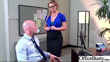 (Cherie Deville) Girl With Round Big Tits In Hard Style Sex In Office clip-08
