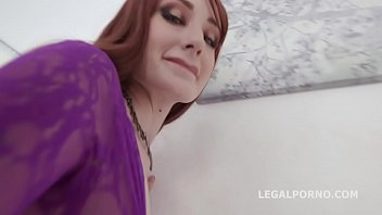 Crazy Redhead Violet Monroe Gets Balls Deep DAP, TP &TAP with the help of a Fucking Machine