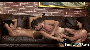 Mom and daughter threesome 0491