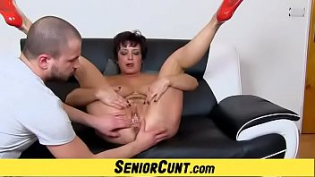 Old pussy in great POV details feat. Milf Greta
