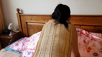 Hot fuck with delicious Asian girl in creaky bed. 10 min