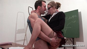 Nude teachers on my space - Amateur french student hard sodomized and fisted in classroom