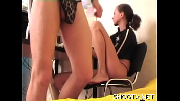 Wang licking delights from wicked brunette darling Tanya 5 min