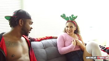 Tiny Latina Rides BBC XXXmas Meat