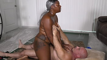 Black Beauty with Big Juicy Ass gets fucked and creamed (interracial)