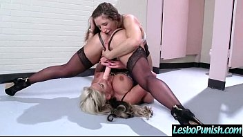 Lez Mean Girl Punish Hot Sexy Lesbian With Toys movie-01