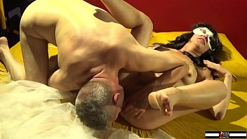 Beautiful milf fucked and cumshot from two cocks inside her ass