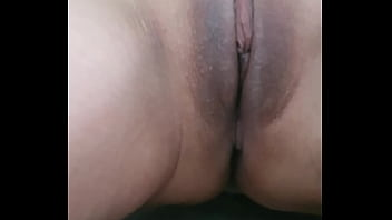 Firey shaved pussy