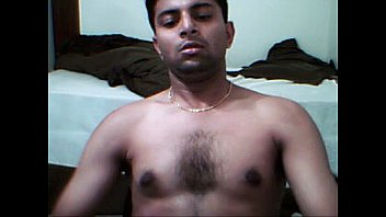 Hot video of Indian gay jerking off on cam
