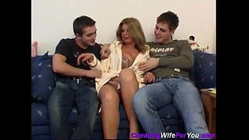 Threesome with Russian hooker