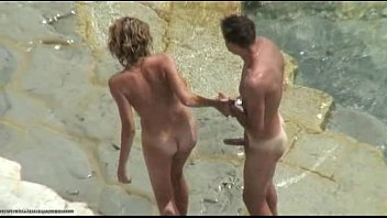 Sex and nudists - Sex with girlfriend caught on spycam