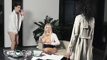Office Obsession - (Bruce Venture, Leanna Sweet, Victoria Summers) - Dont Tell My Wife  Part 2 - BABES