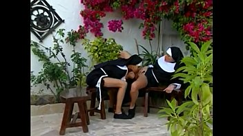 Young nuns having fun...anal