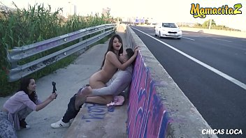CHICS LOCA - #Nikol #Alberto Blanco - Sexy Latina Teen Bangs With Boyfriend Near The Highway - THIS IS INSANE!