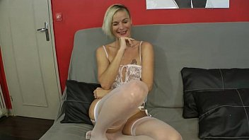 A pretty blonde gets fucked by her husband