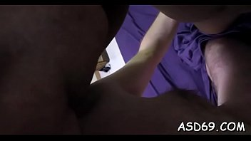 Worthwhile thai girl squeezes her dude's dick and takes it in mouth