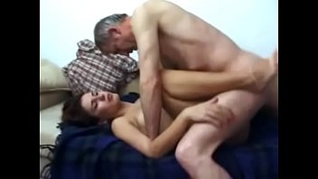Cute wife fucked by her father-in-law (ugly alcoholiker) porn image