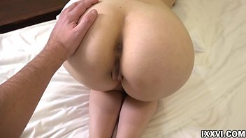 Daddy fucked big ass stepdaughter and cum on her mouth. Vira Gold with Rebecca Rainbow