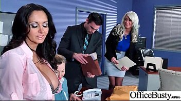 Office Girl (Ava Addams & Riley Jenner) With Big Round Melon Tits Like Sex mov-09
