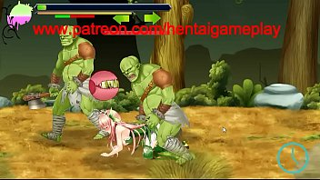 Princess Defender Hentai Game Gameplay . Hot Cute Teen Princess Hentai Having Sex With Orks Monsters In Xxx Ryona Game