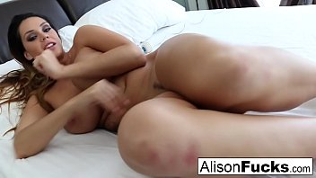 Alison Tyler teases with her toy!