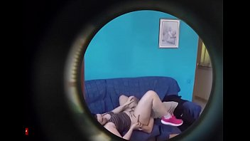 Eating pussy on the couch of the blue room ADR0545