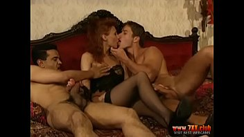 CoverBrunette Lana Jalta Fucks with two males  – 7XX.club