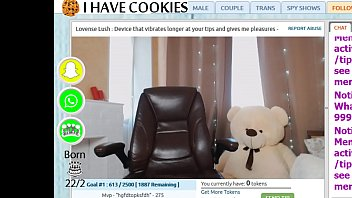 I HAVE COOKIES Webcam dance and masturbation