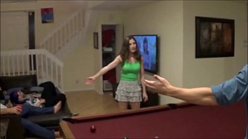 Big Brother and Little Sister Rough Sex at Party - Molly Jane