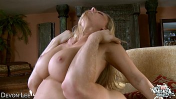 Busty Devon Lee riding cock