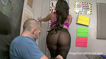 Sloppy FootJob and BlowJob in class with Angelina Castro!?
