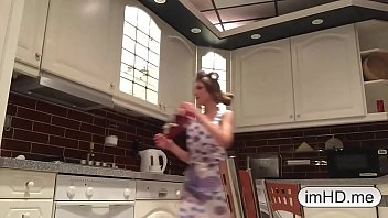 Amazing webcam anal show in the kitchen imhd.me 14 min