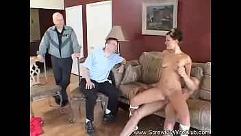 First Time Swinger Wife Gets Rough Sex