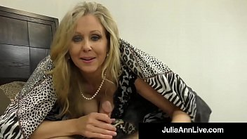 Hot Classy Milf Julia Ann Takes A Cock In Her Mouth & Hands! preview image