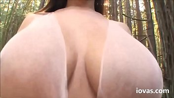 iovas.com Blowjob and Titfuck at the Forest and slow motion facia