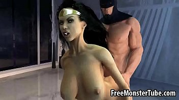 Batman having sex - 3d wonder woman getting fucked hard by batman oman1-high 2