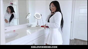 Hot Young Latina Teen With Big Ass And Tits Alina Belle Sex With Her Brother POV