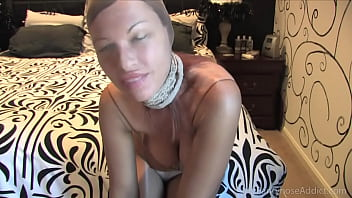 Izzy loves encasement pantyhose