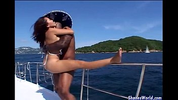 Hot Fuck For Asian Hotty on Yacht