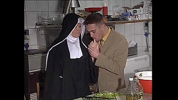 German Nun Assfucked In Kitchen thumbnail