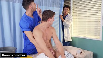 Fucking In The Clinic With (Michael Jackman, Nate Grimes, Zane Williams) - Bromo