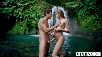 He Fucks Her Hard Under The Waterfall As He Knows Better