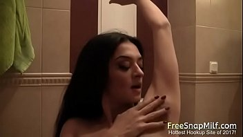 Brunette hairy pussy nude Hot milf hairy armpit show